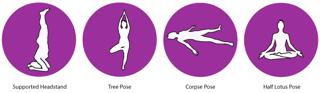 Crown Chakra Yoga Poses
