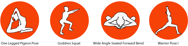 Sacral Chakra Healing Yoga Poses
