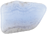 best stone for anger: Blue Lace Agate