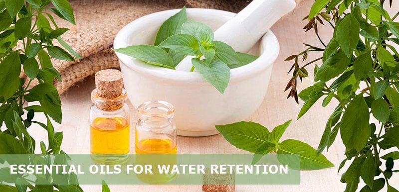 best essential oils for water retention