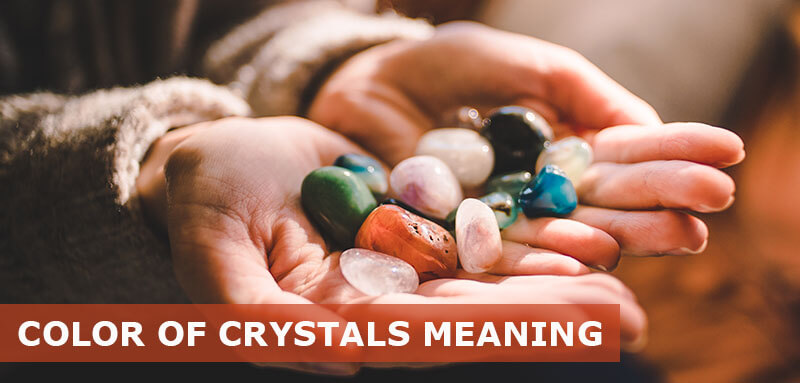what do colors of crystals mean